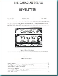 Canadá - The Canadian Prefix - Newsletter