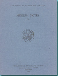 USA - American Numismatic Society - Museum Notes
