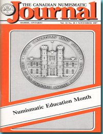 Revista The Canadian Numismatic Journal