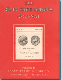 Revista The Coins Collector's Journal