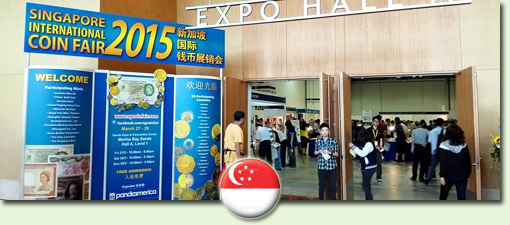 Singapore International Coin Fair 2016